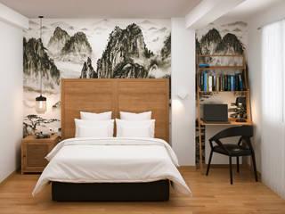 Dormitorio Matrimonio Zaragoza:  de estilo  de Phosmou Estudio, S.L.
