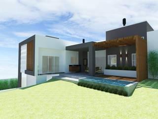 Casa Moderna por Bee arquitetura e design Moderno