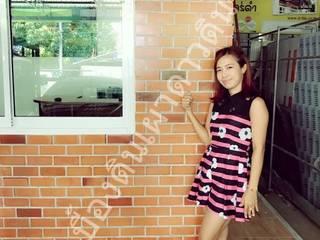 ออฟฟิตพี่สาวคุณโชค(ลูกค้าเก่า) - บางบังทอง: ด้านอุตสาหกรรม  โดย เป็นหนึ่งดินเผาไทยดีไซน์, อินดัสเตรียล