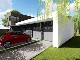 Casa en Barrio Pizzurno - Rafaela - Santa Fe Casas minimalistas de Arquitecto Leandro Puy Minimalista