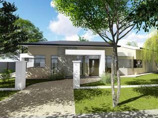 Casa en Barrio Brigadier López - Rafaela - Santa Fe - Argentina: Casas de estilo  por Arquitecto Leandro Puy