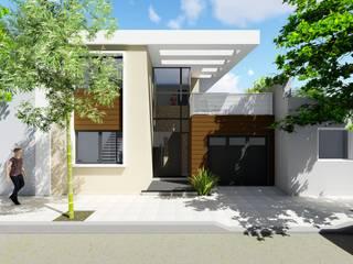 Casa en PH Barrio 30 de Octubre - Rafaela - Santa Fe - Argentina: Casas de estilo  por Arquitecto Leandro Puy