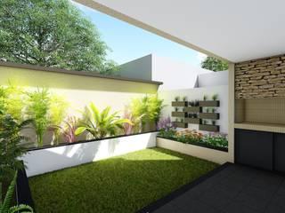 Casa en PH Barrio 30 de Octubre - Rafaela - Santa Fe - Argentina Jardines minimalistas de Arquitecto Leandro Puy Minimalista