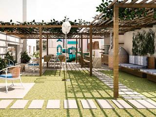 Rumah teras by SET Arquitetura e Construções