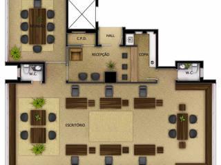 Ruang Kerja by SET Arquitetura e Construções