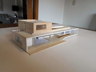 Minimalist Evler [ER+] Arquitectura y Construcción Minimalist
