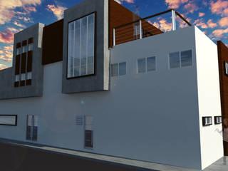 Escuelas de estilo  por ..arquitecturería taller.., Moderno