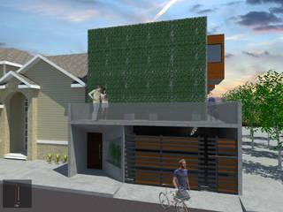 Casas de estilo  por ..arquitecturería taller.., Minimalista