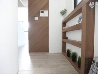 樂宅設計|古亭謙邸|12坪 幾何線條 兩房一廳 新屋設計 根據 樂宅設計|系統傢俱