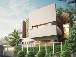 Alam V House Ashari Architect Rumah tinggal