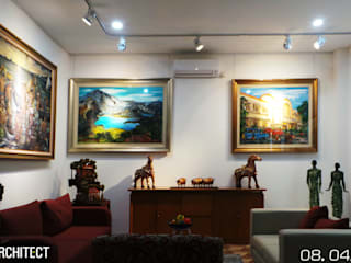 Art Gallery Ashari Architect Ruang Media Modern