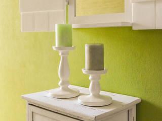Wohlfühlatmosphäre durch Romantik und Moderne Wohnjuwel Home Staging Flur, Diele & TreppenhausAccessoires und Dekoration Holz Weiß