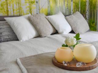 Wohlfühlatmosphäre durch Romantik und Moderne Wohnjuwel Home Staging SchlafzimmerAccessoires und Dekoration