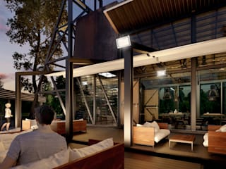 Boom Resort โดย ramรับออกแบบตกแต่งภายใน อินดัสเตรียล