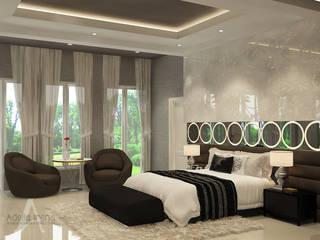 Master Bedroom: Kamar Tidur oleh AIRE INTERIOR ,