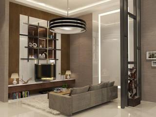 Living Room Ruang Keluarga Modern Oleh AIRE INTERIOR Modern