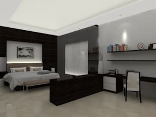 Master Bedroom:   by Asera.Atelier