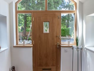 New Oak Entrance Porch Hampshire Design Consultancy Ltd.