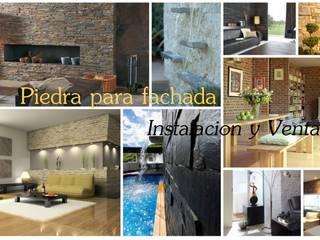 Venta e Instalacion de Recubrimientos Residenciales PECASA RECUBRIMIENTOS Casas modernas