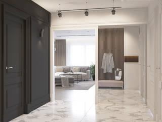 モダンスタイルの 玄関&廊下&階段 の Design interior OLGA MUDRYAKOVA モダン