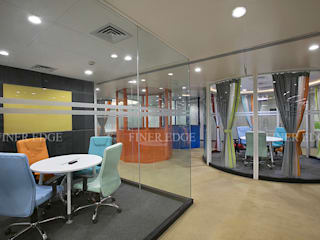 :  Commercial Spaces by Finer Edge Architects & Interior Designers