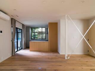 世代交代した家 となり オリジナルデザインの キッチン の 株式会社エキップ オリジナル