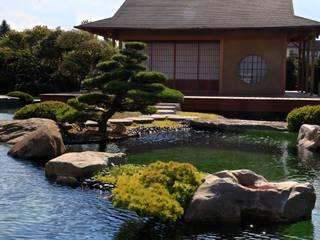 Japangarten bei Leipzig von Jürgen Kirchner Wasser + Garten Asiatisch