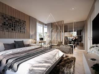 Bedroom by pyh's interior design studio