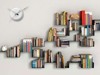 Study Room Wall Styling: modern  by Just For Clocks,Modern