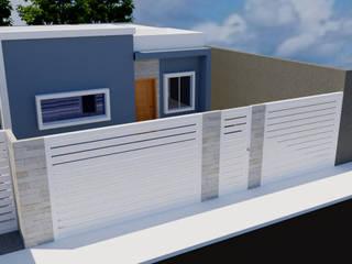 Minha Casa Minha vida: Casas familiares  por FT Engenharia e Arquitetura,Moderno