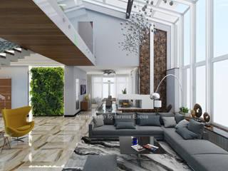 Ruang Keluarga oleh Архитектурное Бюро 'Капитель', Industrial