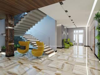 Living room by Архитектурное Бюро 'Капитель', Industrial