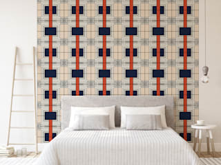 KAU PATTERN - AFRICA Wallpaper Collection:   by Estampe and Co