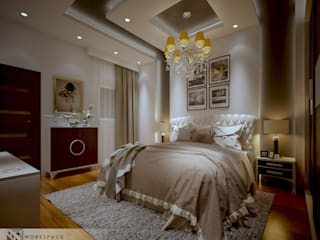 WORKSPACE architects & interior designers BedroomAccessories & decoration Brown