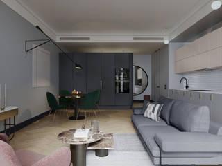 Студия Семена Вишнякова '1618 ROOM' Modern living room
