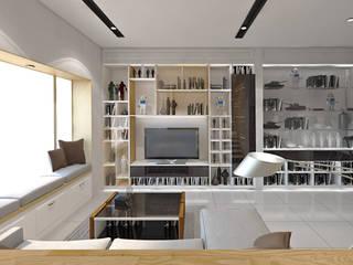 Residential Manyar Permai, Pantai Indah Kapuk Ruang Keluarga Modern Oleh SINAR JAYA DESIGN Modern