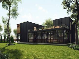 Graphite house. от HEADS Group. Архитектурное бюро Арсена Хаирова и Владислава Куликовского.