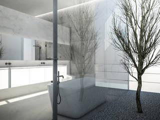 Minimalist style bathroom by KERA Design Studio Minimalist