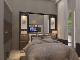 Project - Rumah Tinggal Kediri Family Residence Kamar Tidur Modern Oleh Vinch Interior Modern