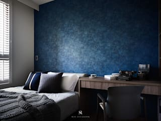 Bedroom by 理絲室內設計有限公司 Ris Interior Design Co., Ltd.