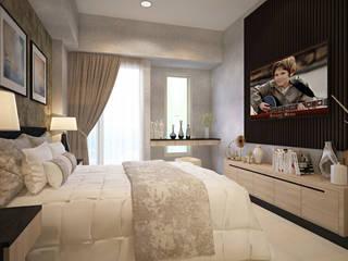 Bedroom Area:  Kamar Tidur by Vinch Interior