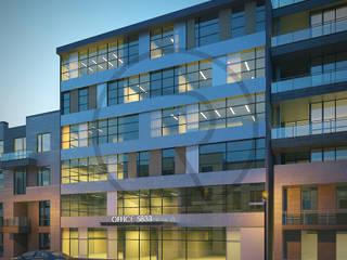Kağıthane de Ofis Binası Repente Mimarlık Modern