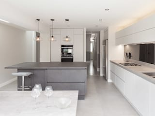 Clapham Old Town, Lambeth Proctor & Co. Architecture Ltd Cocinas equipadas