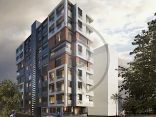 Tümak Apartmanı Konsept Proje Modern Oteller Repente Mimarlık Modern
