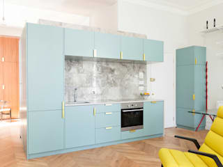 Westbourne Gardens Modern kitchen by NAKED Kitchens Modern