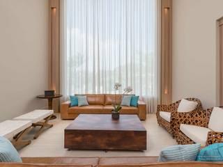Izilda Moraes Arquitetura Salas de estilo rústico