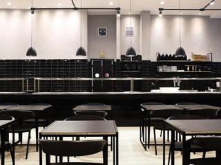 Restaurante Maru: Lojas e imóveis comerciais  por Solo Arquitetos,Asiático