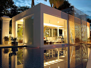 Izilda Moraes Arquitetura Puertas de vidrio