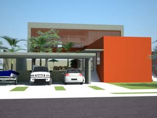 Casas estilo moderno: ideas, arquitectura e imágenes de VERRONI arquitetos associados Moderno