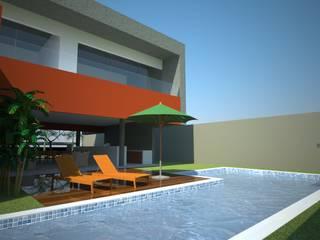 Moderne Häuser von VERRONI arquitetos associados Modern